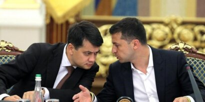 Does Razumkov have a political future after his resignation?